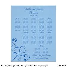 Standard Seating Chart Size Wedding Reception Seating Chart Standard Sizes Zazzle