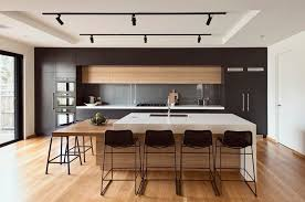 modern white and black kitchen. High Street Project Modern White And Black Kitchen D