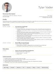 Business Management Resume Sample Businessmanagement Graduate Cv Example Resume Samples Career 5