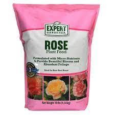 expert gardener rose plant food