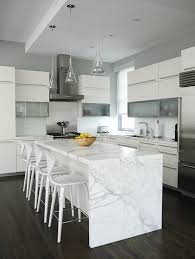 white marble countertops an elegant and noble look for your kitchen