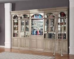 library unit furniture. allure 6 piece bar unit library wall in champagne finish by parker house all46526s furniture l