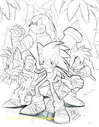 Sonic Boom Coloring Pages At Getdrawingscom Free For Personal Use