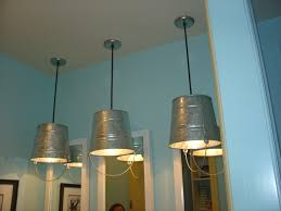 fun bucket light fixtures in kids bathroom of parade home house images on fascinating galvanized steel