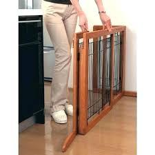 freestanding wooden dog gates uk pet gate ships dark brown