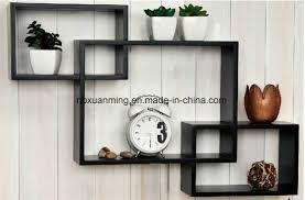 china set of 3 interlocking wall shelf