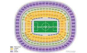 Fedex Field Seating Chart Fedexfield Landover Md Seating Chart View