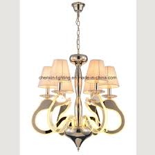 new decoration projection swan acrylic chandelier hanging light