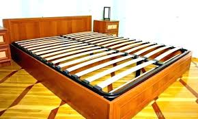 Luroy Slatted Bed Base Queen Wooden Slat Wood Frame As – yourpower.info