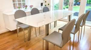 full size of large extendable round dining table room tables modern glass extension interior extending and