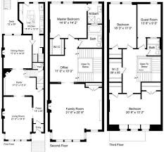 dc row house floor plans luxury brownstone row house plans house design plans
