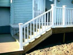 outdoor stair railing kit home depot railings porch wonderful photos wood wooden designs ou