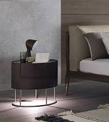 misuraemme furniture. Round Oak Bedside Table With Drawers Built-in Lights SHANGHAI By MisuraEmme Design Mauro Lipparini Misuraemme Furniture