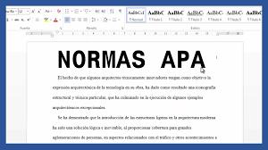 Word Márgenes Textos Y Paginado Según Normas Apa Saber Programas