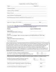 Travel Request Form Awesome Travel Request Form Instructions