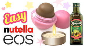 the easiest diy nutella lip balm recipe ever no coconut oil no beeswax diy eos you