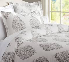 amazing gray bedding west elm pertaining to blue and grey duvet covers
