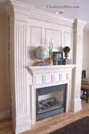 Try This A Faux Fireplace U2013 A Beautiful MessHow To Build A Faux Fireplace