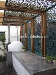 garden screen. Perforated Laser Cut Metal Garden Screens For Decoration Screen A