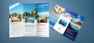 Travel Brochure Cover Design Free Psd Travel Brochure Free Psd Files