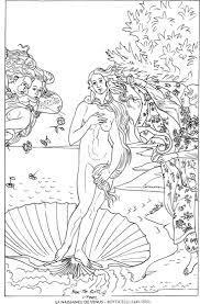 La Naissance De Venus Botticelli Famous