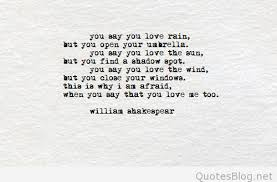 Beautiful Shakespeare Love Quotes