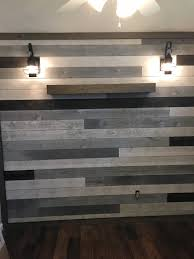 shiplap using a mix of colors