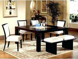 best type of rug for dining area under on carpet room round table spacious kitchen enchanting