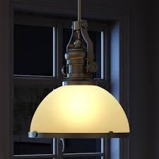 brushed nickel industrial pendant lighting ceiling pendant shade round pendant light