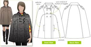 Cape Sewing Pattern