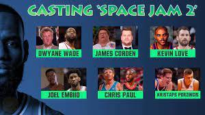 Casting 'Space Jam 2'