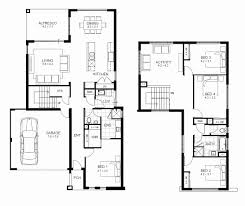 4 bedroom 2 story house plans new 2 story floor plans fresh two story house plans