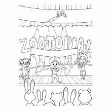 Leuk Voor Kids Zootopia Zootropolis Kleurplaten