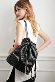 Forever 21 Quilted Faux Leather Backpack | Where to buy & how to wear & ... Forever 21 Quilted Faux Leather Backpack ... Adamdwight.com