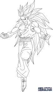 Small Picture Lineart Son Goku ssj3 by DBZwarrior on DeviantArt son goku