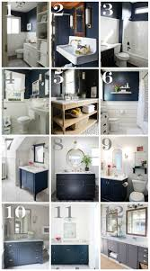 bathroom decor ideas. Navy Bathroom Decorating Ideas With Blue Walls And Vanities Decor
