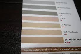 Almond Color Chart Laticrete Grout Suggestions Laticrete Is Green Guarded