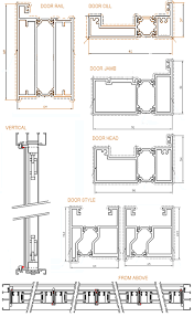 sliding door detail drawing folding door detail dwg picture al images picture are ideas