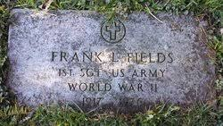 1SGT Frank Leroy Fields (1917-1976) - Find A Grave Memorial