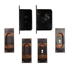 vintage pocket door hardware. SOLD Complete Antique Pocket Door Hardware Set For Double Doors, Yale \u0026 Towne. \u2039 \u203a Vintage E