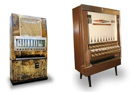 Vintage Vending Machines For Sale Interesting The Vintage Cigarette Machines Now Coughing Up Art