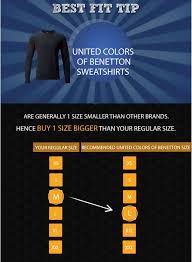 United Colors Of Benetton India Size Chart United Colors Of Benetton T Shirts Size Chart Dreamworks
