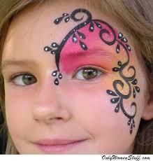 simple face paint ideas on the cheek