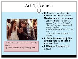 romeo and juliet act notes juliet romeo 21 act 1 scene 5