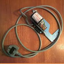 electrolux aqualux 1200. used electrolux aqualux 1200 washer dryer mains lead and filter sale to fit model ewd 1214 l