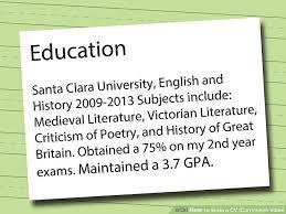 Writing A Cv How To Write A Cv Or Curriculum Vitae With Free Sample Cv