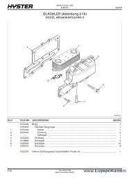 hyster (l005) h3 50 5 50xm h4 00xm 6 h4 Wiring Diagram For Hyster 50 Forklift Hyster 60 Forklift Parts Diagram