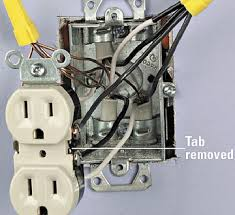 installing a switched receptacle how to install a new electrical connected wires enlarge image