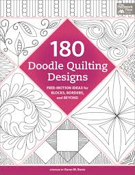 Trace - doodle - free-motion quilt! 180 doodle patterns to try (+ ... & 180 Doodle Quilting Designs Adamdwight.com