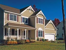 Pacific Blue Siding Colonial D Clapboard Pacific Blue Siding - Exterior vinyl siding